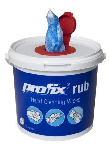 Profix abrasiivsed niisked wipesid 45g, sinised, 72 tk ämbris, k: 4 tk