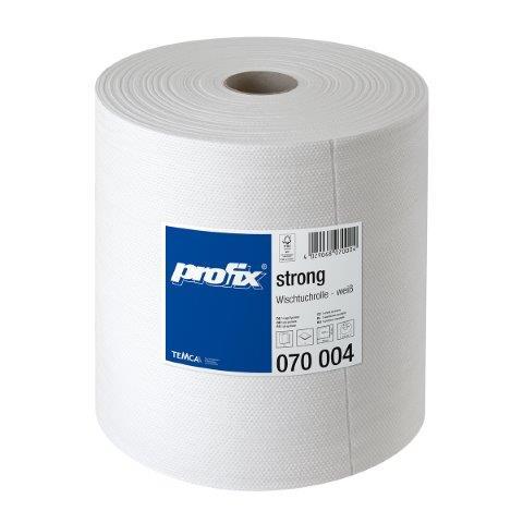 Profix Industrial Strong Roll, valged lapid 40x38 cm, 500 tk/rullis, k:1 rull