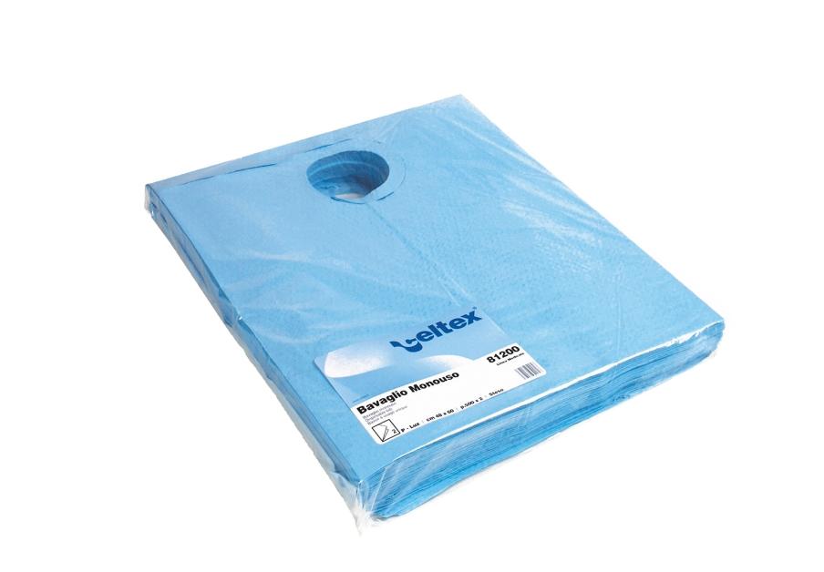Ühekordne põll, PE, sinine, 2kihiline, 40x60 cm, 20 tk pakis, 25 pakki kastis