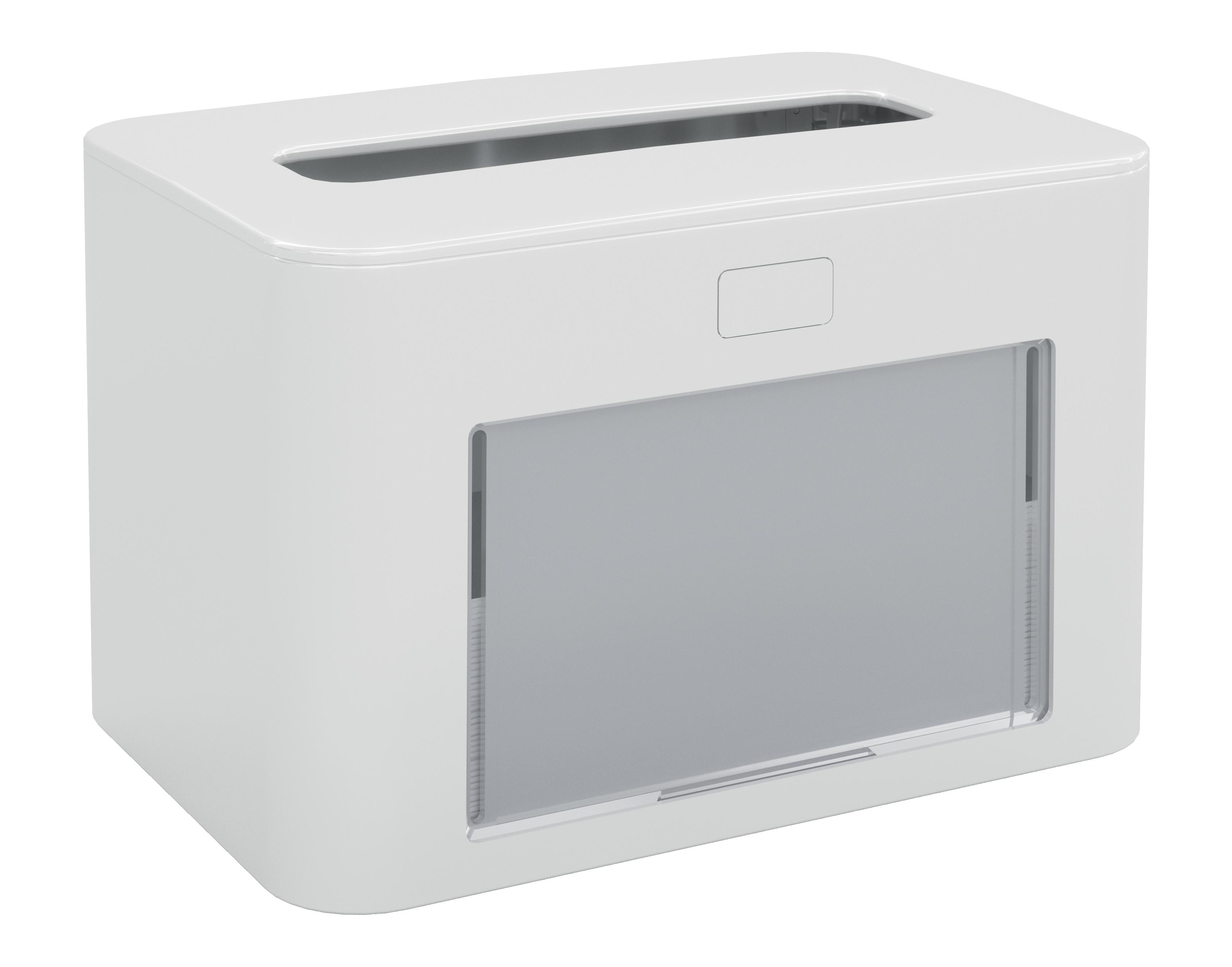 Papernet® salvrätiku hoidik, lauale, valge,antibakteriaalne, 13,3x12,6x20cm,k:6tk