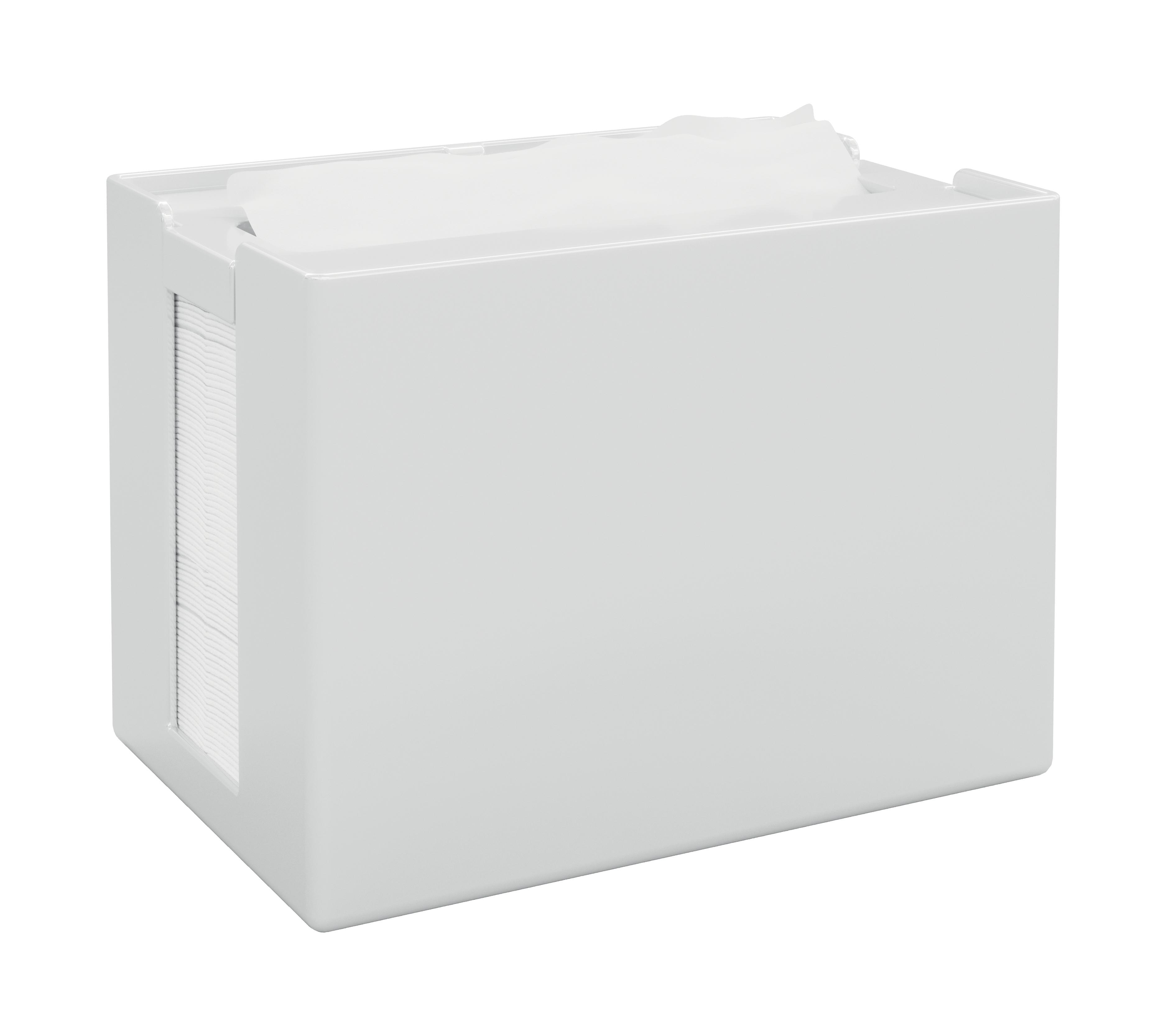 Papernet® salvrätiku hoidik, lauale, valge, mõõt 16,8x12,5x10,9 cm,k:8tk