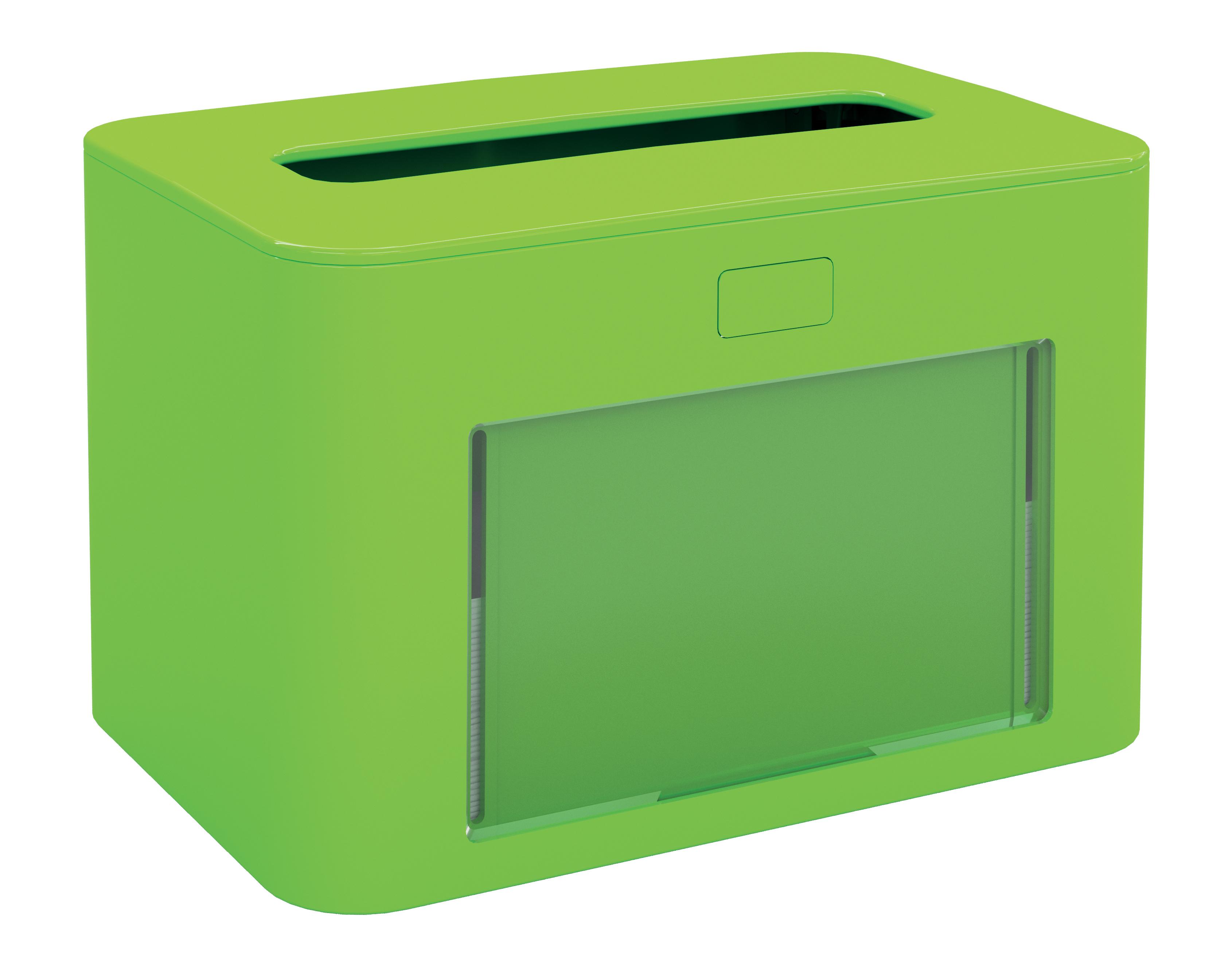 Papernet® salvrätiku hoidik, lauale, roheline,antibak.13,3x12,6x20cm,k:6tk