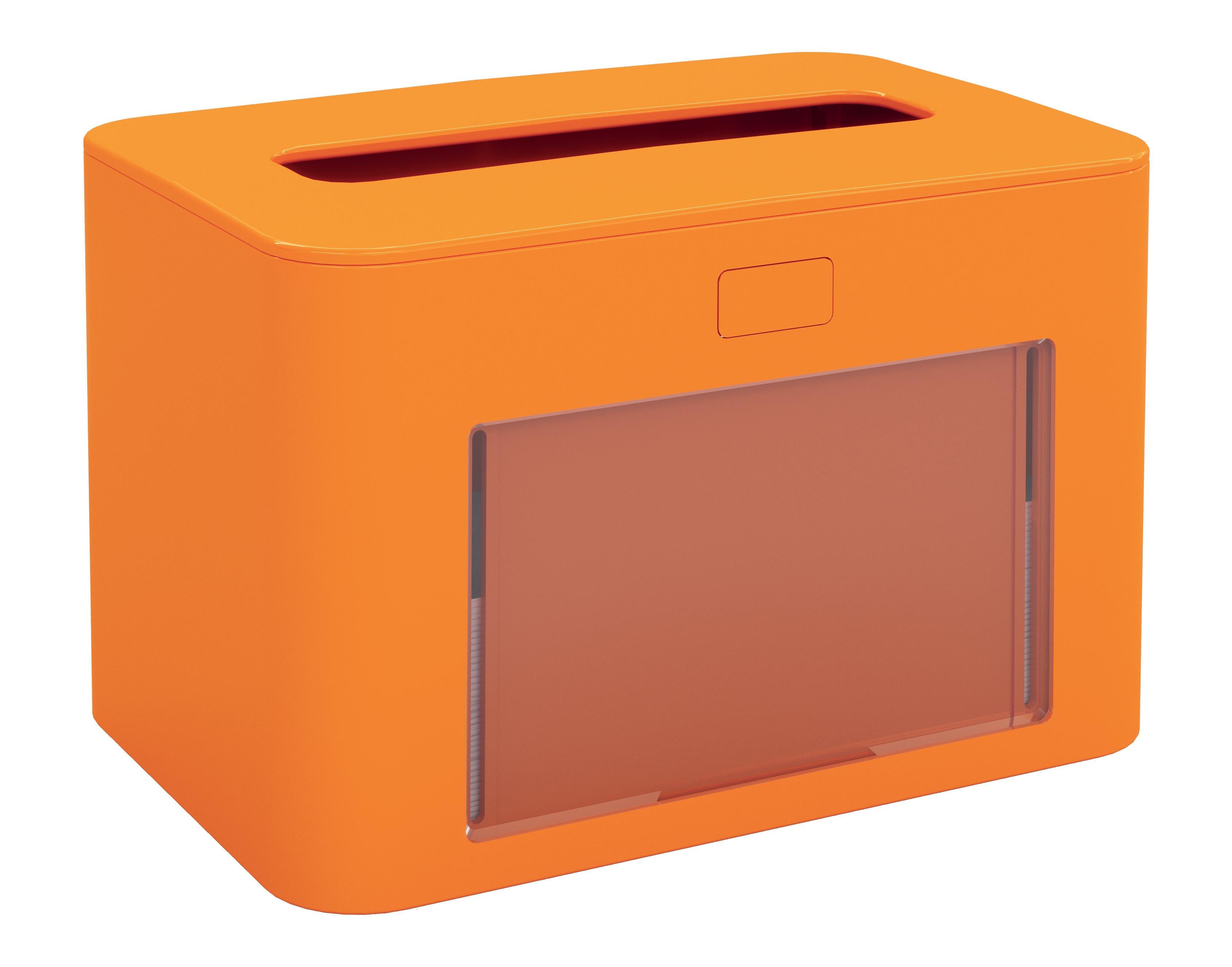 Papernet® salvrätiku hoidik, lauale, oranž,antibak.13,3x12,6x20cm,k:6tk