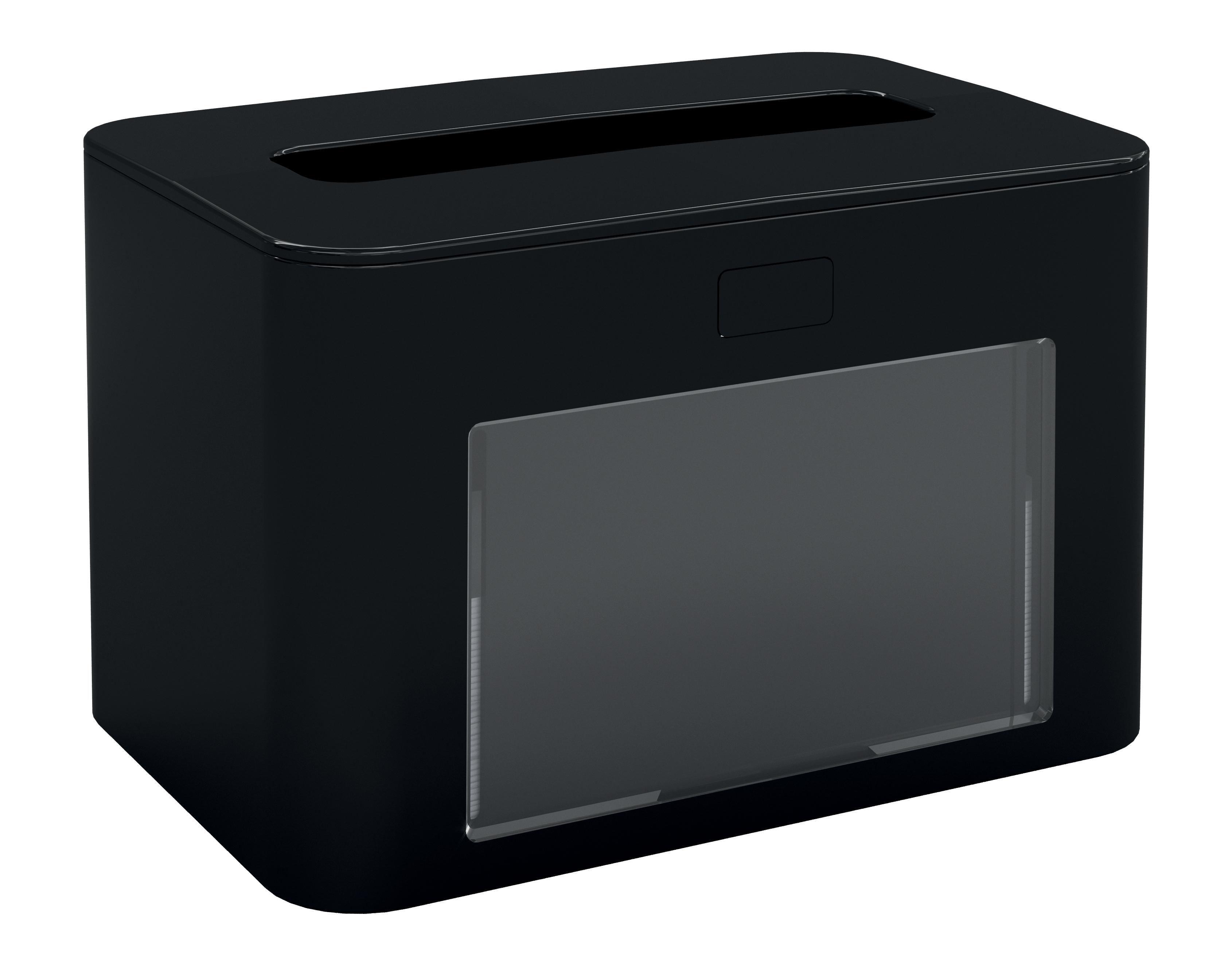 Papernet® salvrätiku hoidik, lauale, must,antibak.13,3x12,6x20cm,k:6tk