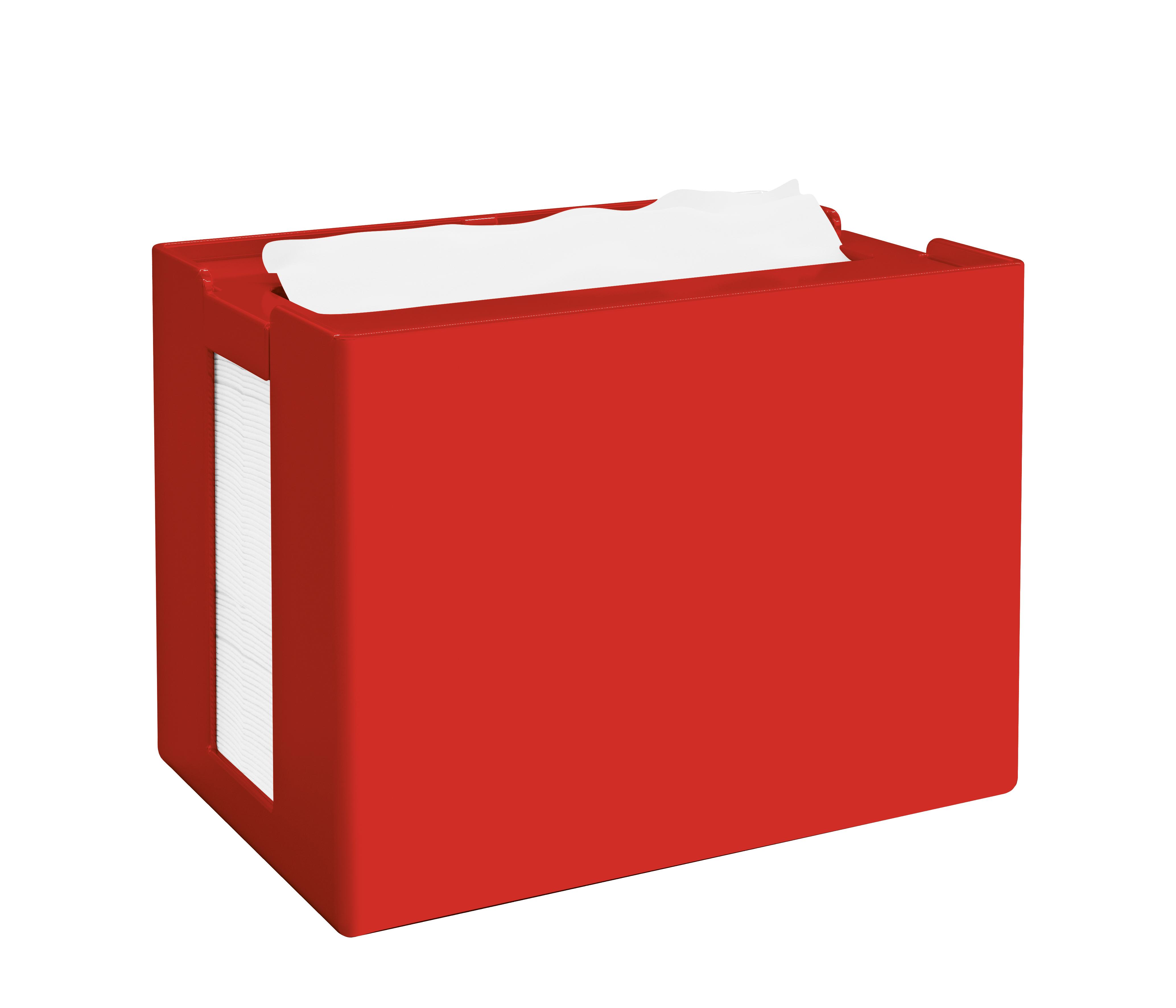 Papernet® salvrätiku hoidik, lauale, punane, 16,8x12,5x10,9 cm k:8tk