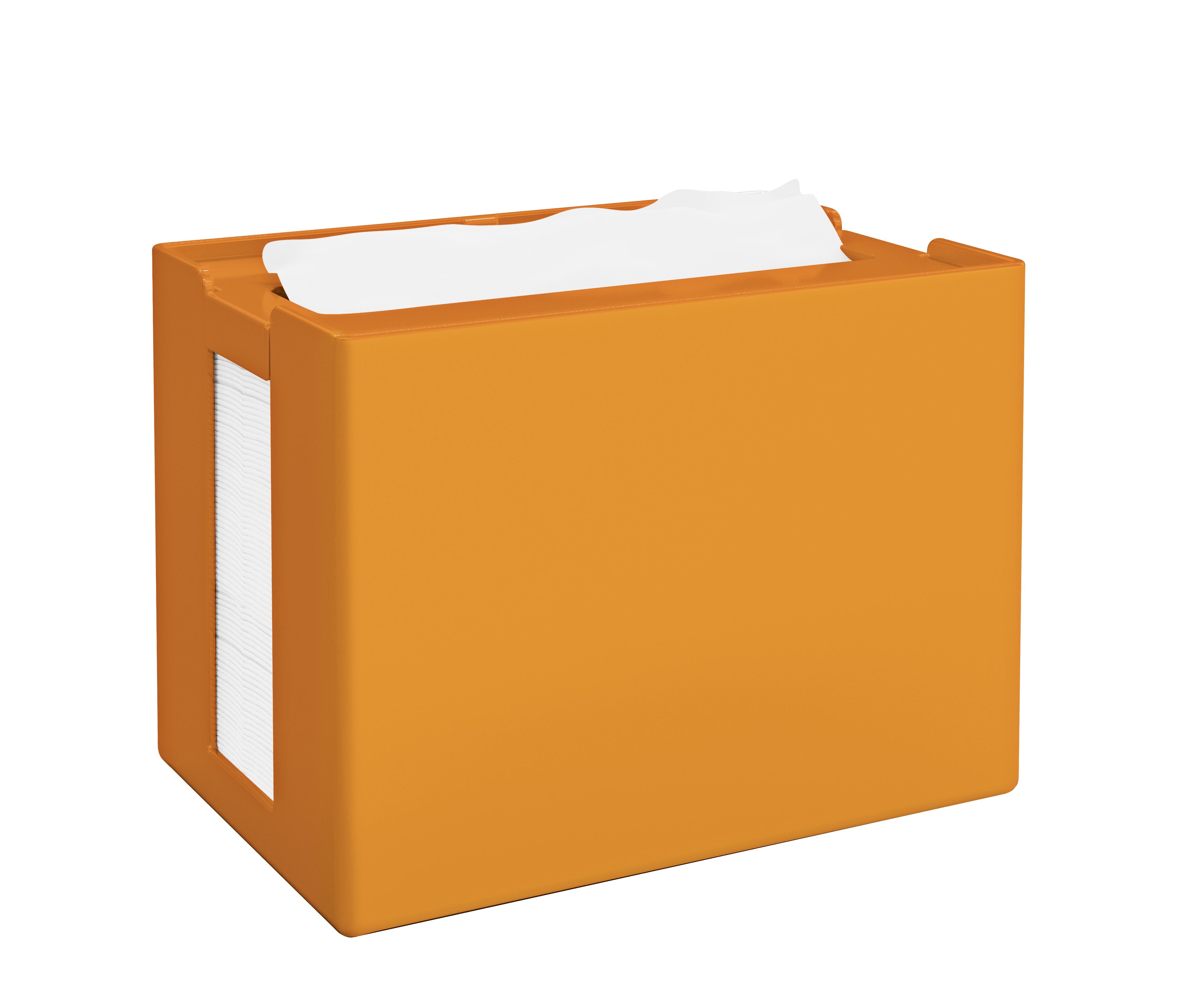 Papernet® salvrätiku hoidik, lauale, oranž, 16,8x12,5x10,9 cm k:8tk