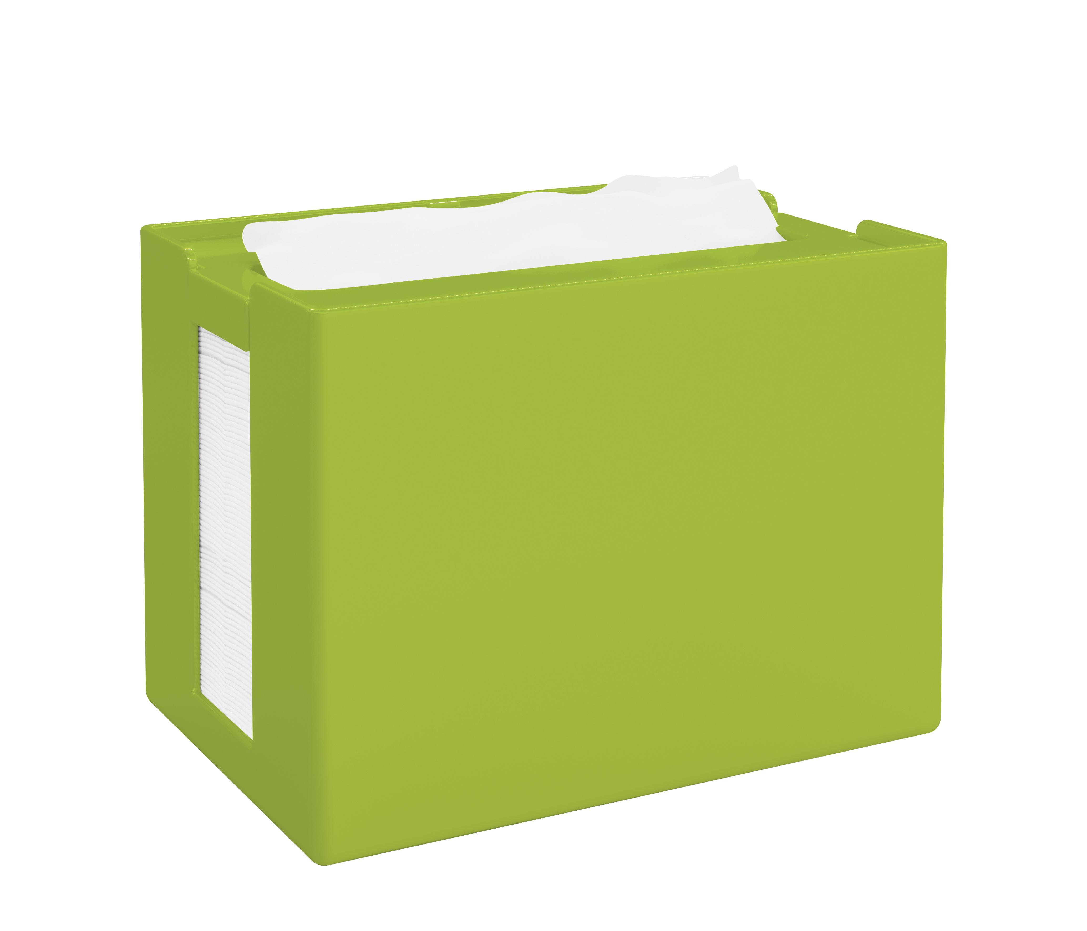 Papernet® salvrätiku hoidik, lauale, roheline,16,8x12,5x10,9 cm k:8tk