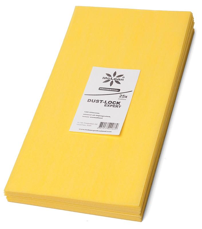 McLean Õlilapp, kollane, sidrun, pakis 25 tk, 30 x 60 cm, kastis 30 pk.