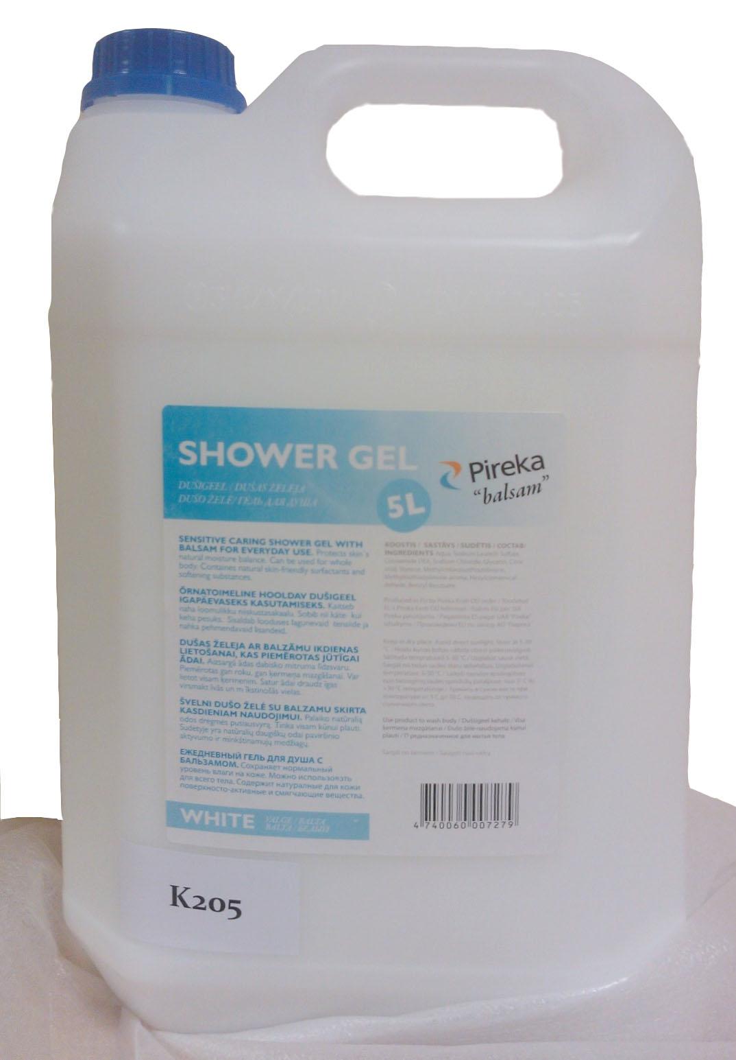 Palsam vedelseep-dušigeel 5L, valge