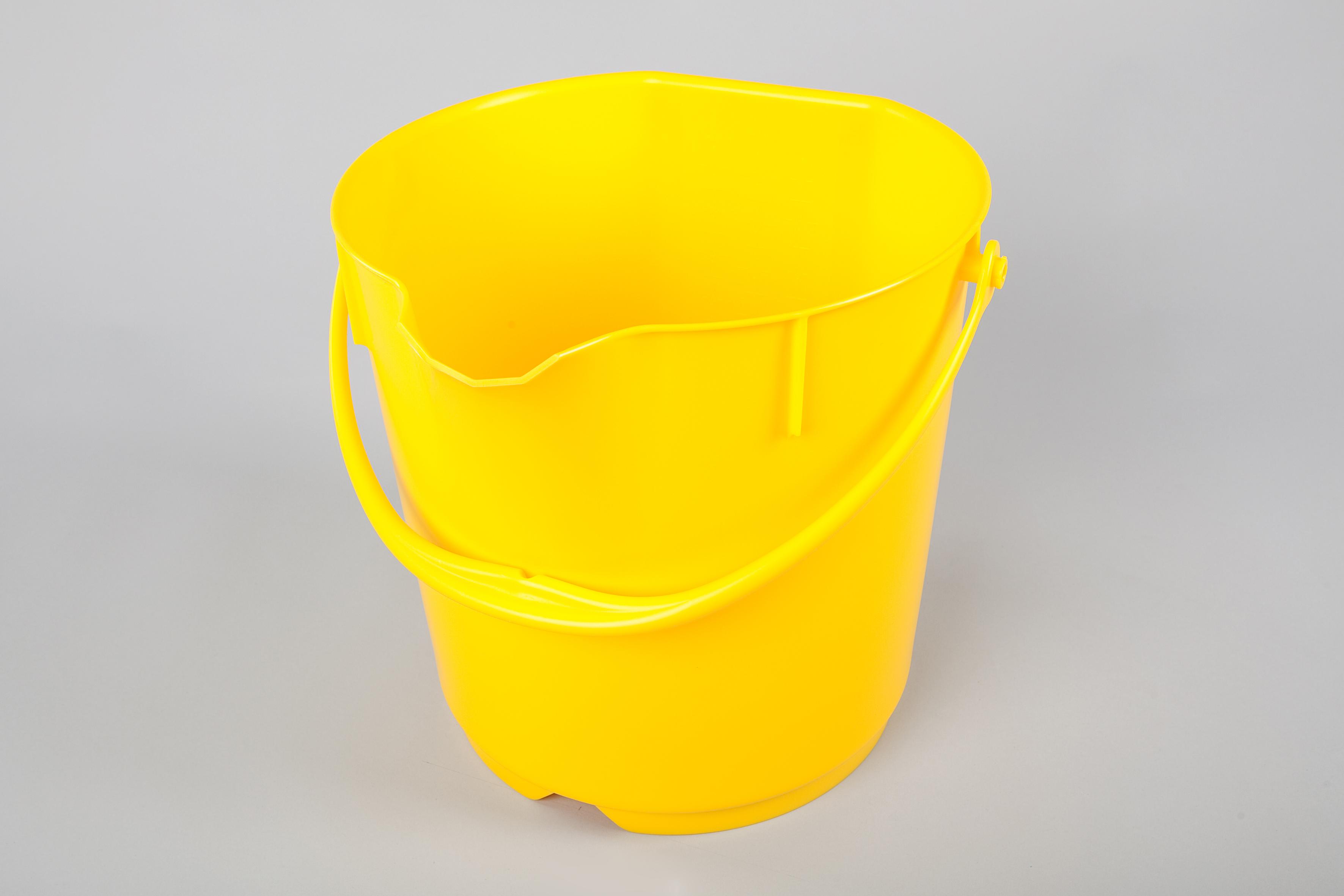Unimop ämber 15 L, kollane, kastis 4 tk