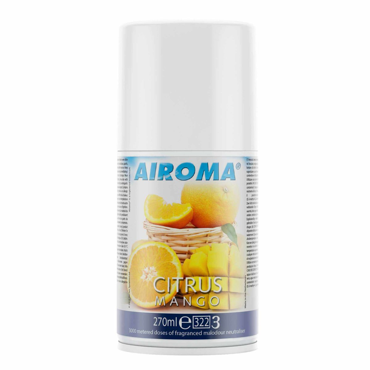 Vectair Airoma lõhn Citrus Mango, 270 ml, kastis 12 tk