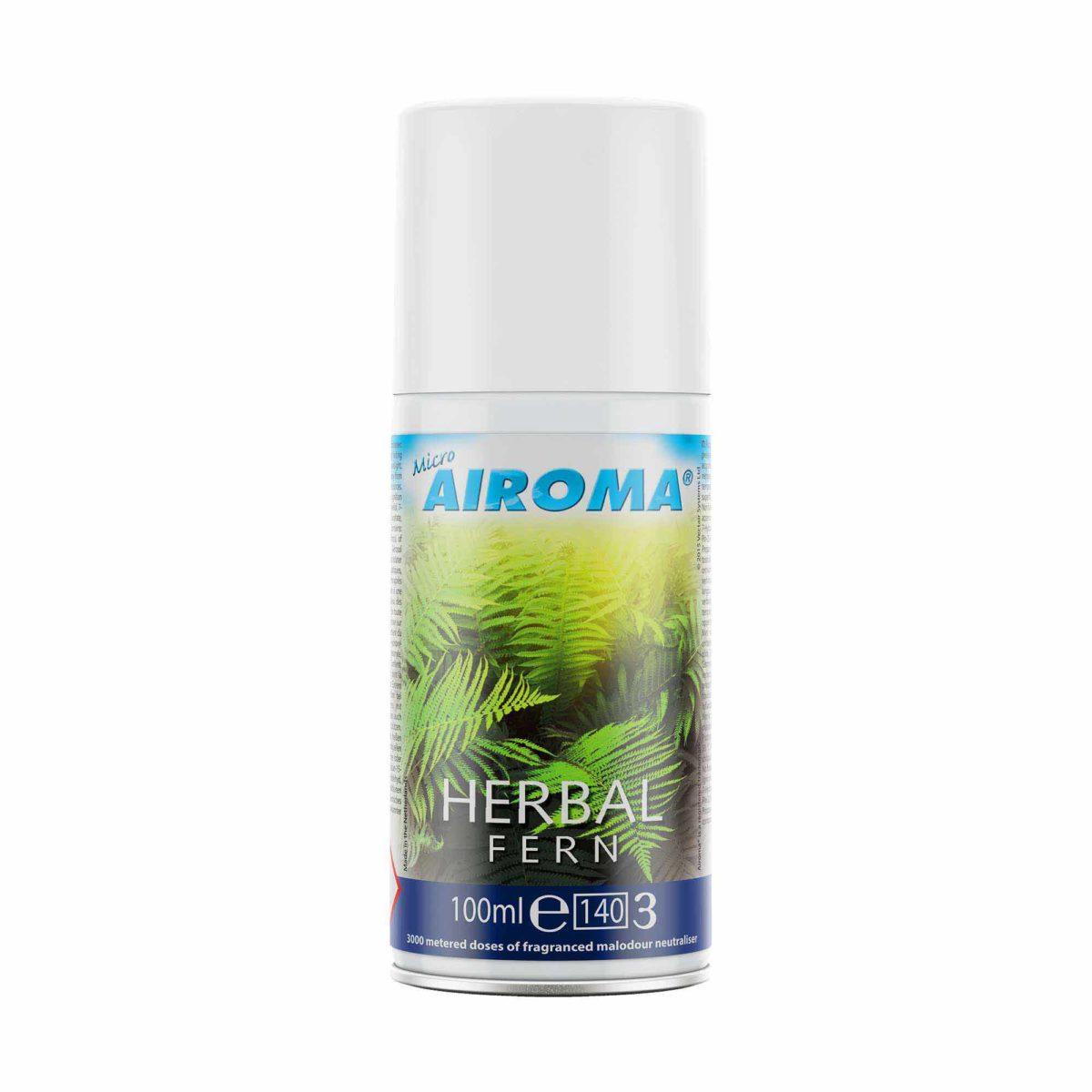Vectair Micro Airoma lõhn Herbal Fern, 100 ml, kastis 12tk, LÕPUMÜÜK