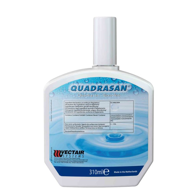 Quadrasan 300 lõhnatu puhastusaine , 310 ml, 6tk kastis, LÕPUMÜÜK