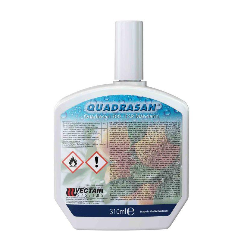 Quadrasan 300 ESP Mandarin puhastusaine ., 310 ml, 6tk kastis, LÕPUMÜÜK